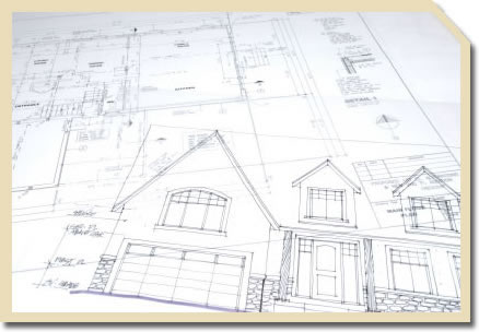 Blueprints for a custom home