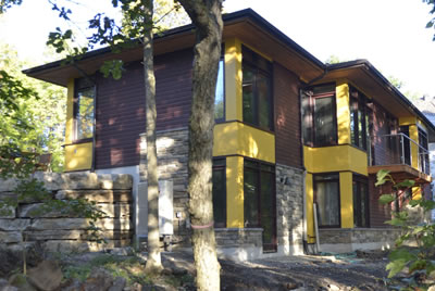 Almonte, Ontario custom home built by David Barr Construction