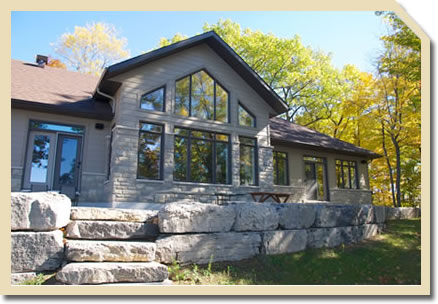 Custom home 6 by David Barr Construction of Almonte, Ontario
