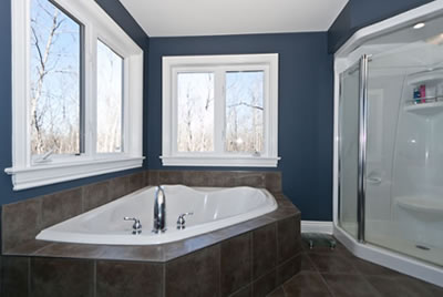 Bathroom of Almonte residence by David Barr Construction