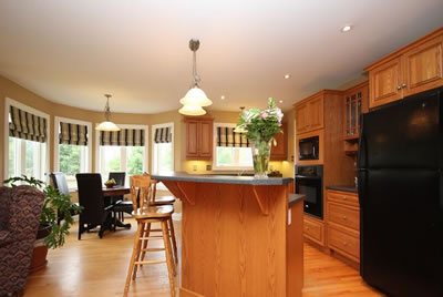 Almonte custom home built by David Barr Construction