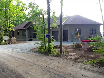 Lanark County ICF construction