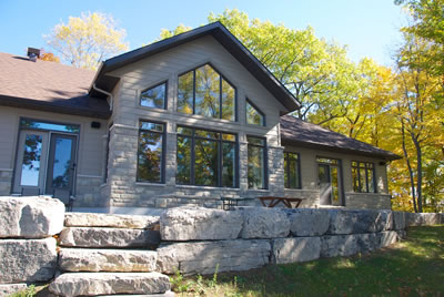 Lanark vacation home by David Barr Construction